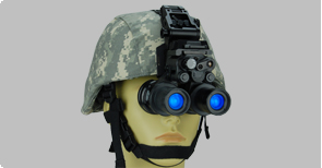 NVG on Helmet